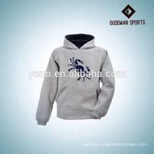 China grey exported breathable fashion men's hoodies & sweatshirts